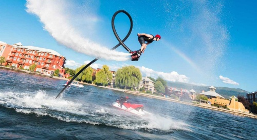 Now enjoy the Flyboarding experience in Goa