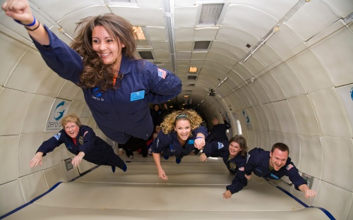 Get ready for a space flying experience with the Zero-Gravity Flights