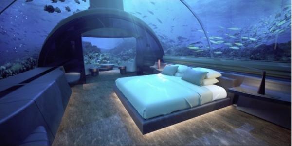 Hilton's Conrad Rangali Island Resort (Maldives)