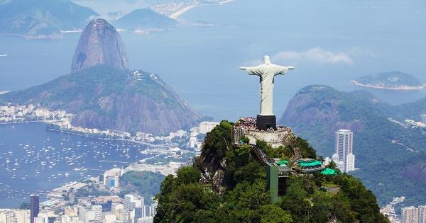 Christ the Redeemer statue in Rio de Janerio