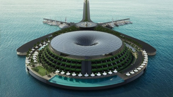 Eco-Floating Hotel Qatar