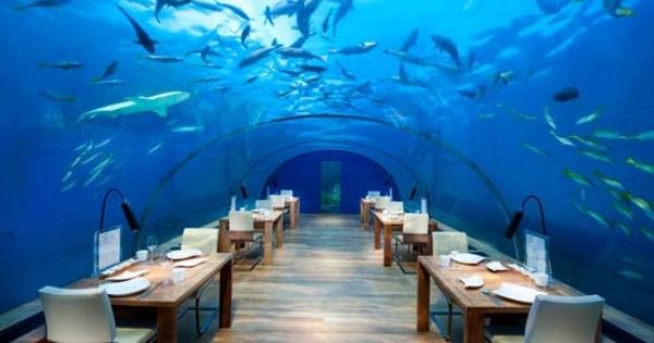 World first underwater villa in Maldives