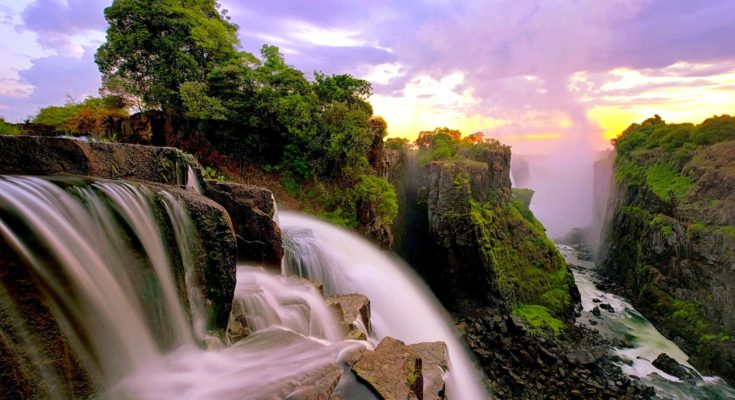 Victoria Falls - Most beautiful and largest waterfall