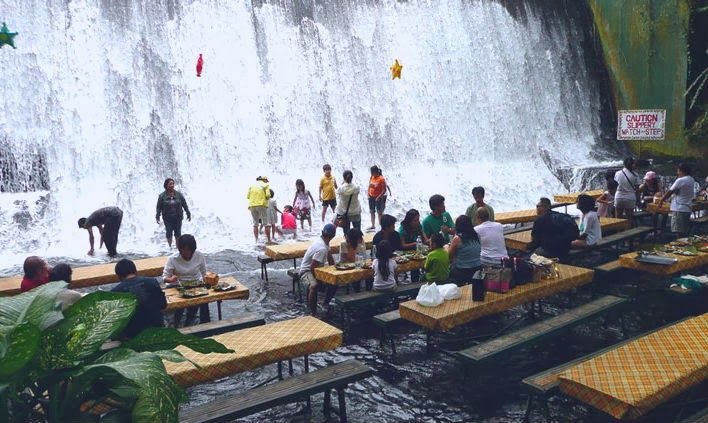 Labassin Waterfall Restaurant In Philippines Is The Next Hot Place To Try Filipino Cuisine