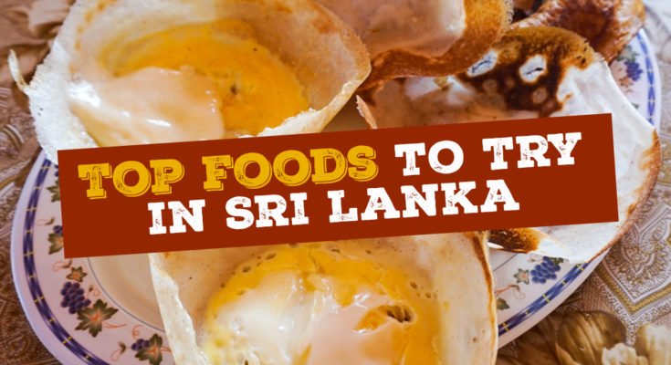 Food items that you must try in Sri Lanka