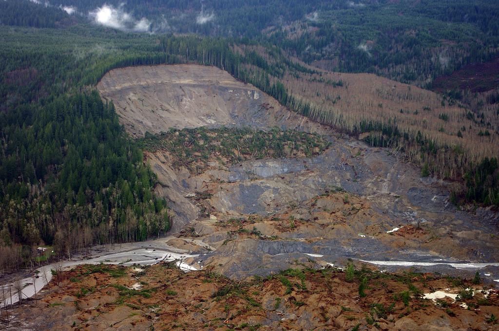 What to do and not to do if you are stuck in a landslide?
