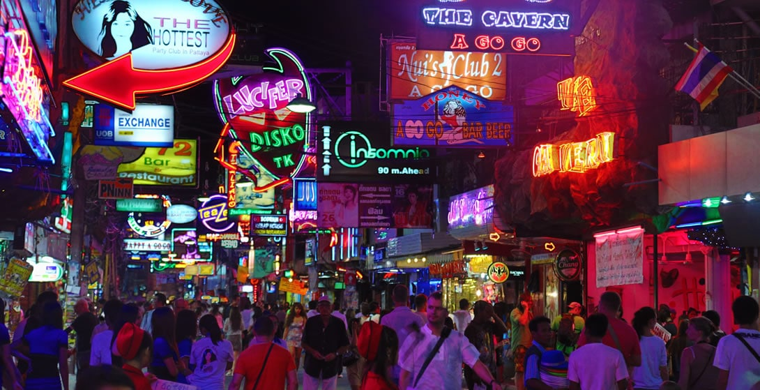 Pattaya Walking Street - Pattaya Nightlife