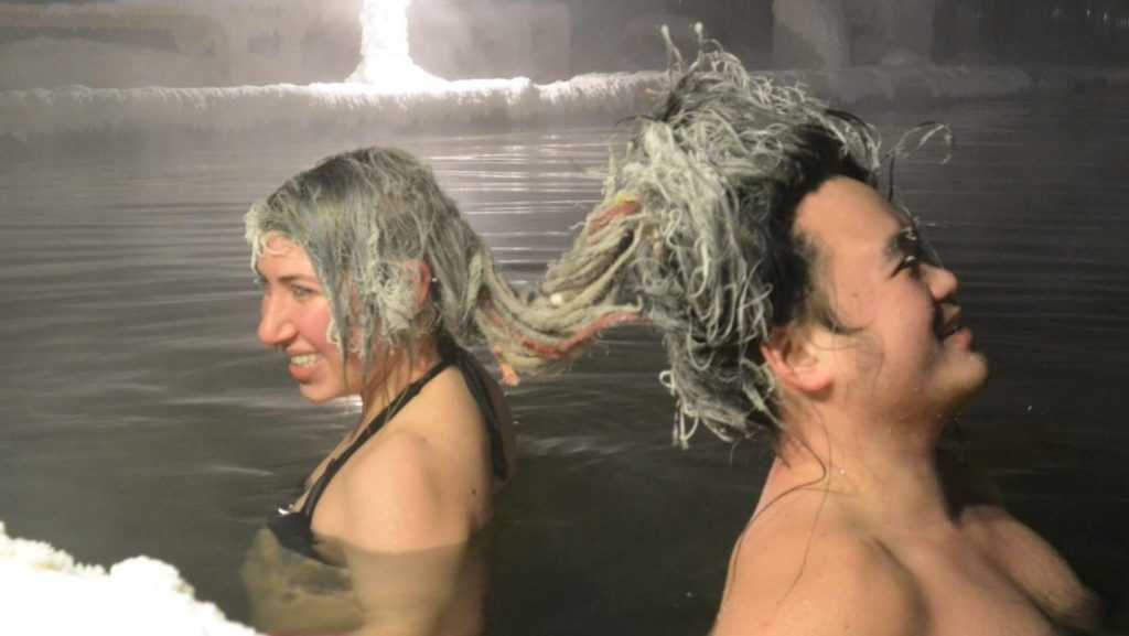 annual hair freezing competition