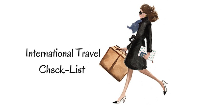 Things to Check Before International Travel