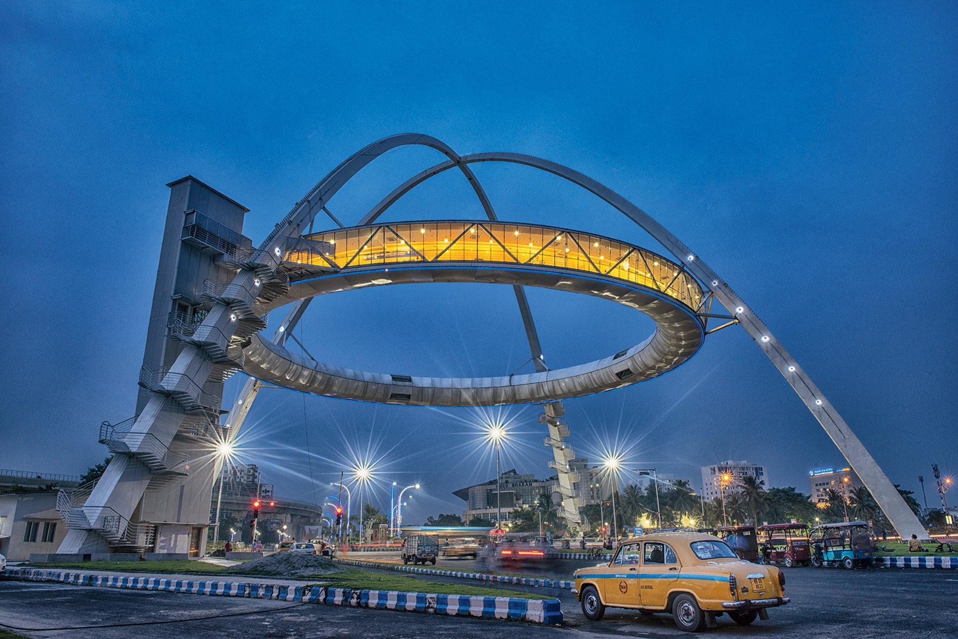 Biswa Bangla Gate - Kolkata first hanging restaurant