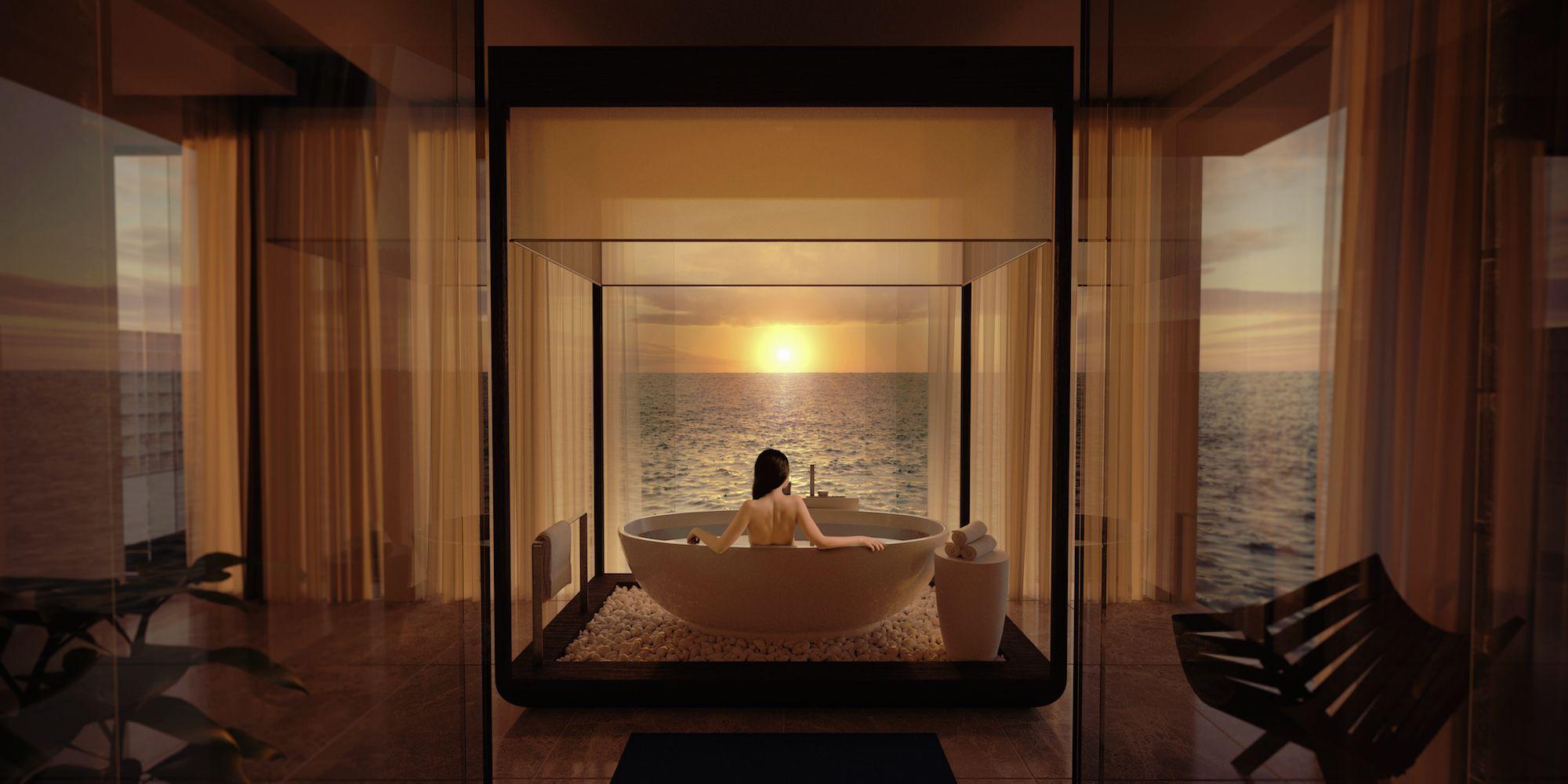 World�s First Underwater Villa In Maldives