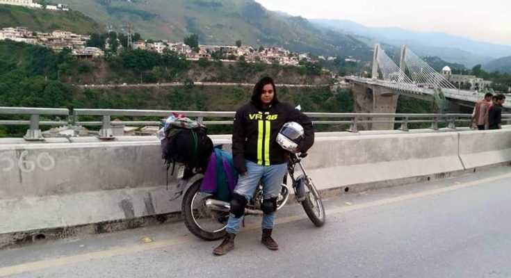 An inspirational journey of Pakistan's first female rider who rode across the Nation.
