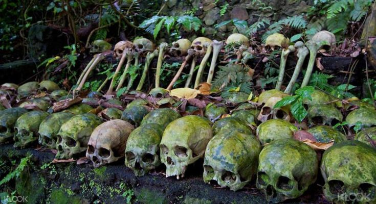 Explore the Skull village of Bali